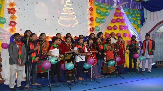 Nepal Christmas Celebration